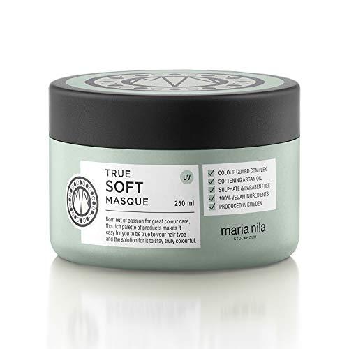 Maria Nila Care & Style - True Soft Masque 250ml, Intensive Haarmaske für trockenes Haar - feuchtigkeitsspendend