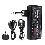 Bnineteenteam Mini Amplificador de Auriculares con Efecto de distorsi/ón port/átil para Guitarra el/éctrica