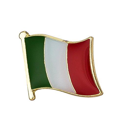 Italië Italiaanse vlag metalen pin badge