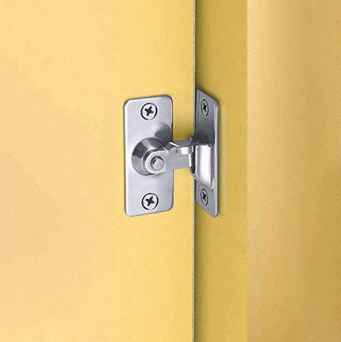Tornillo de bloqueo de puerta de seguridad de acero inoxidable en ángulo recto de 90 grados, utilizado para valla de madera, puerta y ventana, cerradura de puerta corredera de seguridad
