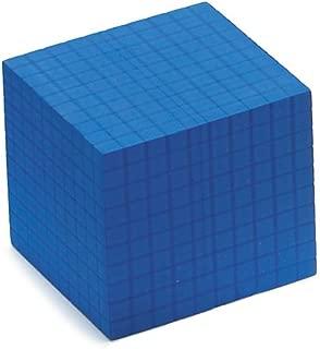 EAI Education QuietShape Foam Base Ten Thousand Cube: Blue