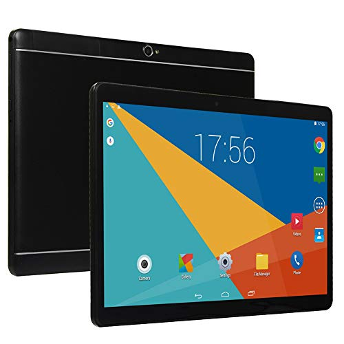 10 inch Android Tablet PC,5G Wi-Fi,4GB RAM,64GB Storage, IPS HD Display, IPS HD Display,3G Phablet with Dual Sim Card Slots,Bluetooth,GPS, Chenen Tablets for Kids P2 (Black)