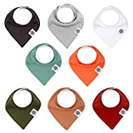 "Parker Baby Bandana Drool Bibs 8 Pack Baby Bibs for Boys, Girls, Unisex -""The Estes Set"""