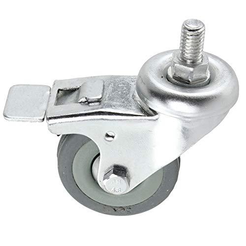 Spares2go Universal-Lenkrolle mit Bremse, für Kühlschränke, Kühlschränke, Gefrierschrank, Kühlschrank (50 mm)