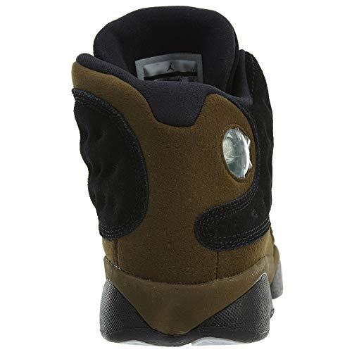Jordan Air 13 Retro BG Big Kids Sneakers Black/Gym Red/Light Olive...