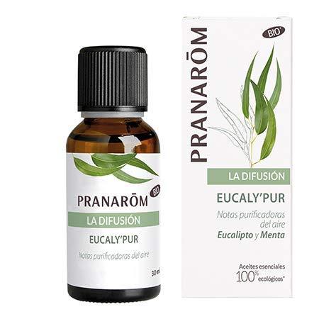 Pranarom - Eucaly'Pur - Notas purificadoras del aire - Eucalipto y Menta …