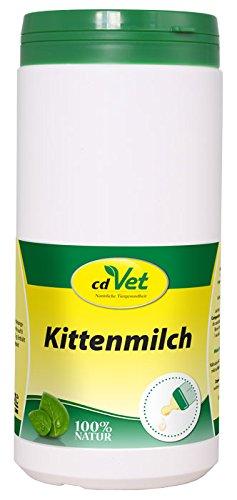cdVet Naturprodukte Kittenmilch 750 g - Katze - Milchaustausch-Ergänzungsfuttermittel - Ersatzmilch - Vermeidung von Verdauungsstörungen - hochwertiges Kolostrum - Schutz vor Mangelernährung -