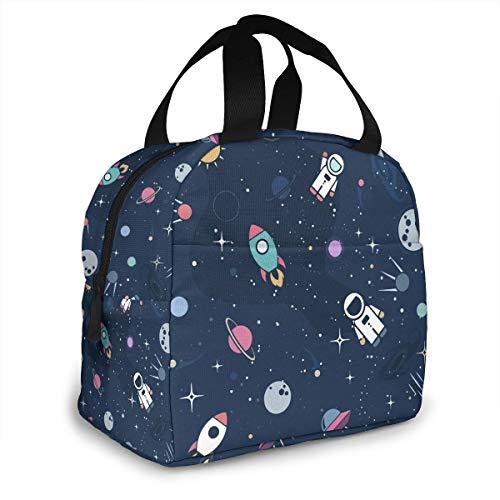 Bolsa de almuerzo portátil para niños y niñas y mujeres con aislamiento térmico bolsa térmica para viajes, picnic, trabajo, escuela