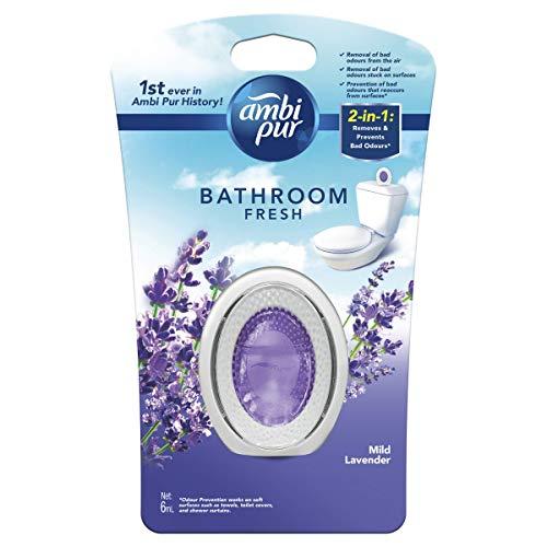 Ambi Pur Bathroom Fresh Mild Lavender, 6 Milliliters