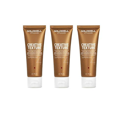 Goldwell StyleSign Superego Strukturgebende Styling Crème 3x75ml kein Import