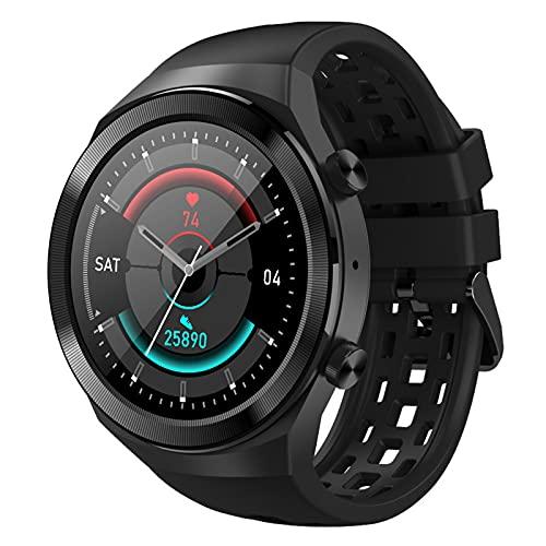 Rvlaugoaa Hombres Smartwatch Recordatorio De Mensaje De Llamada Bluetooth 1.3 Pulgadas Pulsera Inteligente Rastreador De Ejercicios Pulsera Deportiva para Teléfonos iPhone/Android