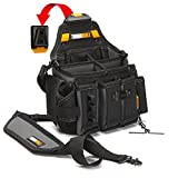 ToughBuilt - Master Electrician's Pouch with Shoulder Strap - 25 Pockets and Loops, ClipTech Compatible, Heavy Duty Construction - (TB-CT-104)