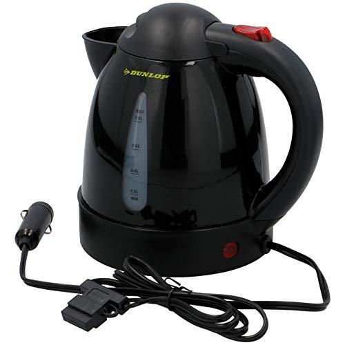 Warenhandel König PKW 12V 12 Volt Wasserkocher ohne sichtbare Heizspirale Ausschalter von Dunlop