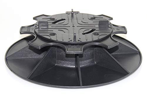 Plattenlager Terrassenlager Stelzlager verstellbar mit Höhenausgleich 5-8 cm für Fliesen Platten Keramik Beton Steine