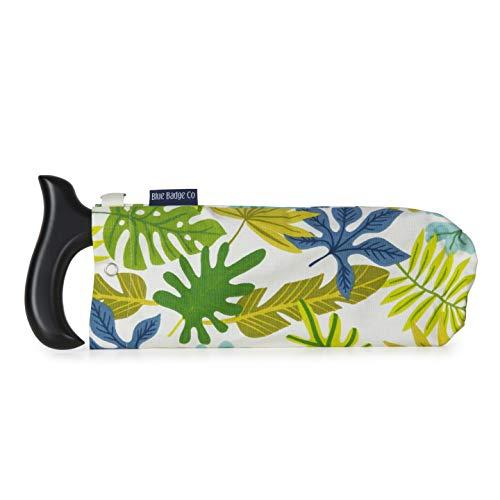 Blue Badge Company Jungle Folding Walking Stick Tas, Draagtas Portemonnee Handtas voor Vouwstokken, Grootte: Klein, Groen