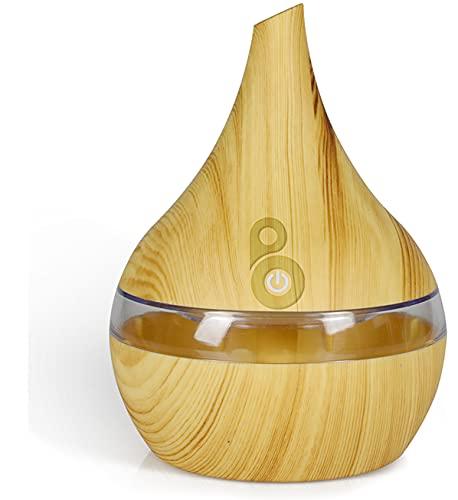 Besmooth Diffuseur huiles essentielles electrique, 350ml diffuseur de parfum Humidificateurs automatique, parfum pour maison, Bureau, Yoga, Spa