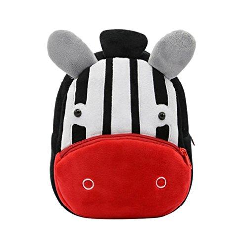 Trada Kinderrucksack, Kleinkind Kinder Baby Mädchen Jungen Niedlichen Cartoon Tier Rucksack Kleinkind Schultasche Kindergartenrucksack Backpack Baby Mädchen Rucksack (B)