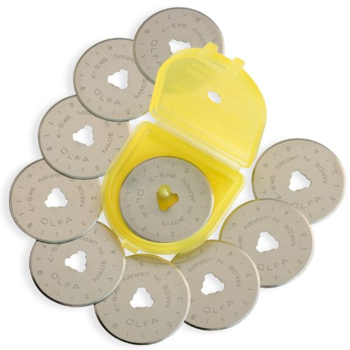 OLFA 28mm Rotary Blade Refill- 10 per Package