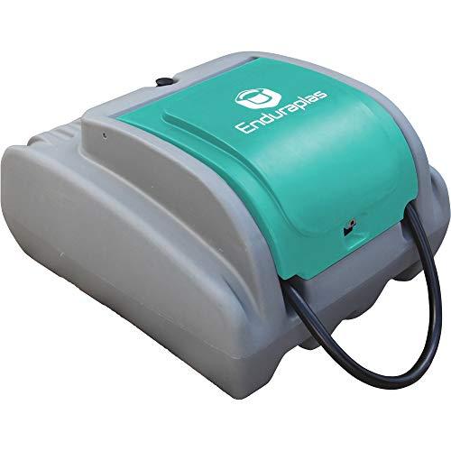 Enduraplas Poly Diesel Transfer Fuel Tank with 12V Fuel Transfer Pump - 25-Gallon, Compact 10 GPM, Model# RDU025C10D