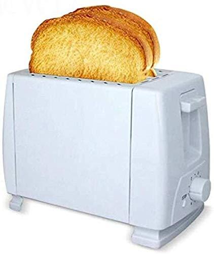 YYhkeby Mini Tostadora Tostadora eléctrica Pan de la hornada de la máquina Completamente automática Desayuno Tostadas máquina de los Horno 2 Rebanadas de 750 vatios / 1 Pieza Jialele