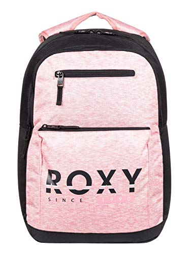 Roxy Here You Are Colorblock - Mochila Mediana para Mujer Mochila Mediana, Mujer, Charcoal...