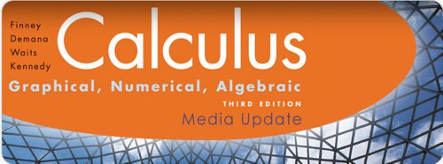 CALCULUS 2010 STUDENT EDITION  (BY FINNEY/DEMANA/WAITS/KENNEDY)