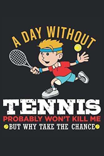 Notebook: tenis, raqueta de tenis, pelota de tenis, partido de tenis,: 120 páginas rayadas: cuaderno, cuaderno de bocetos, agenda, lista de tareas ... para planificar, organizar y tomar notas.