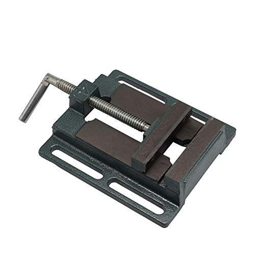 ' / 100mm Cast Iron Drill Press Vice Mechanic Bench Vise Table Top Clamp Press Locking Lock Swivel Base Machine Bench Clamp Clamping Vice
