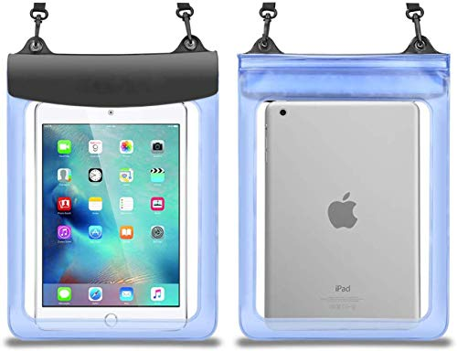 Premium Tablet Waterproof Case Dry Bag Pouch for 9.7-11 inch Apple iPad/iPad Air/iPad Pro 11/10.5,Teclast M30/T20,Acer Iconia One 10,Android Tablet 10.1, Simbans TangoTab 10 Inch, Fusion5 10.1'