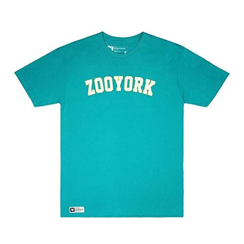 Zoo York Core Arch T-Shirt, Verde (Jade Dome JAD), Small Uomo