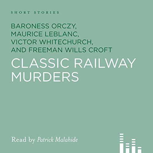Classic Railway Murders audiobook cover art