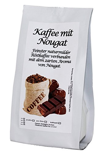 Aromatisierter Kaffee (Nougat,1000g) Ganze Bohne