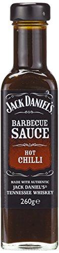 Jack Daniel's BBQ Sauce Hot Chilli (1 x 260 g)