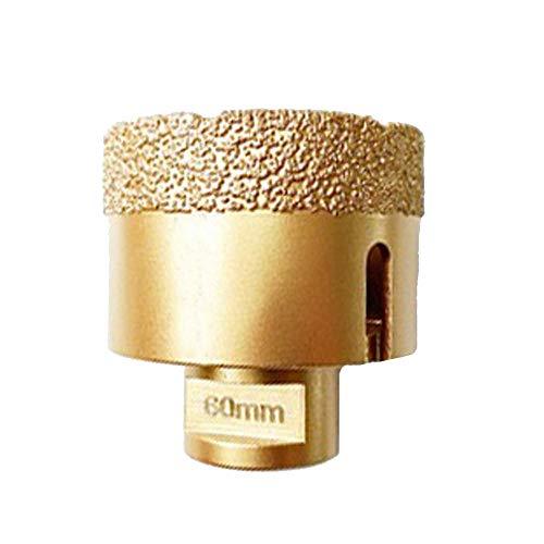 Drill Bit Saw Marble Porcelain Stone Drill bit 20mm-60mm M14 Thread Vacuum Brazed Drilling Core Bits Dry/Wet Diamond Drill Bit-_60MM