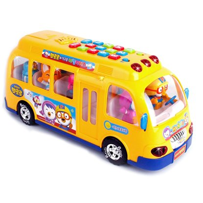 PORORO Play Bus(Yellow) 15.35x5.51x7.08 Yellow - http://coolthings.us