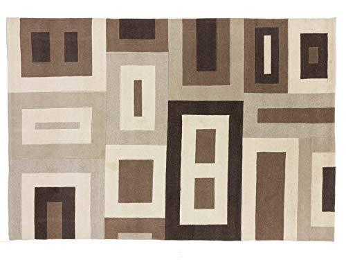 Teppichprinz Indo Nepal - Alfombra (298 x 201 cm, Hecha a Mano,...