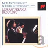 Mozart: Sonata for 2 Pianos in D major. Schubert: Fantasia for Piano, 4 hands in F minor. Murray Perahia, Radu Lupu