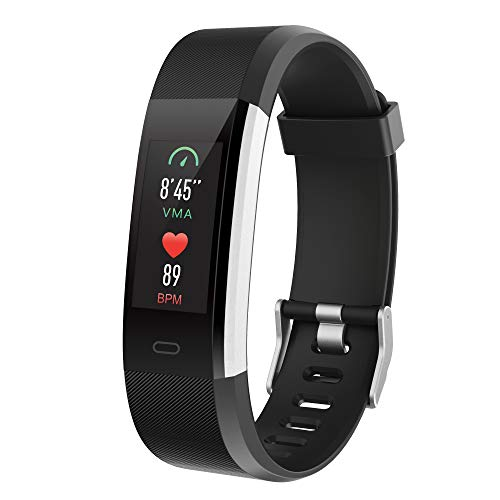 Spitilo Fitness Tracker with Heart Rate Monitor,50m Waterproof + Multisport GPS,Smart Wristband Watch for iOS,Android
