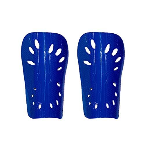 Voetbal legging board insert poreus PP + EVA volwassen en kinderen code kick ball guard plaat insert (Kid Blue)