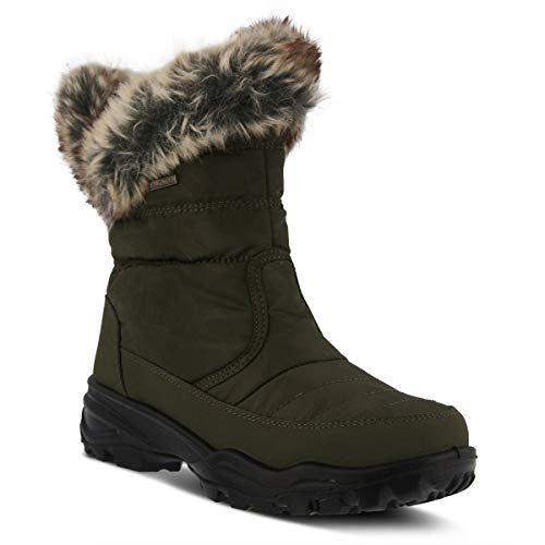 Spring Step Flexus Women's Nylon Waterproof Winter Boot KORINE
