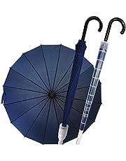 撥水カバー付き 傘 長傘 エチケット傘 メンズ レディース 自動開け ジャンプ傘 紳士傘 ゴルフ用長傘 排水 エチケット用 カバー付き 撥水 丈夫 軽量 梅雨対策 16本骨 通勤 通学 ビジネス ブラック ネイビー レッド