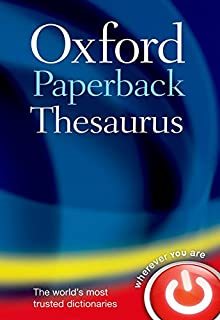 Oxford Paperback Thesaurus