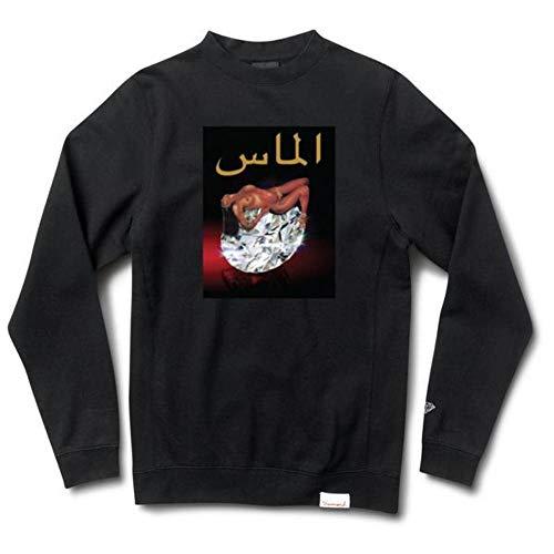 Diamond Supply Co. Arabic Lady Crewneck Black