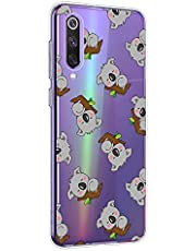 Oihxse Compatible con Xiaomi Redmi Note 5 Pro/Note 5 Funda Cristal Silicona TPU Suave Ultra-Delgado Protector Estuche Creativa Patrón Protector Anti-Choque Carcasa Cover(Pereza A5)