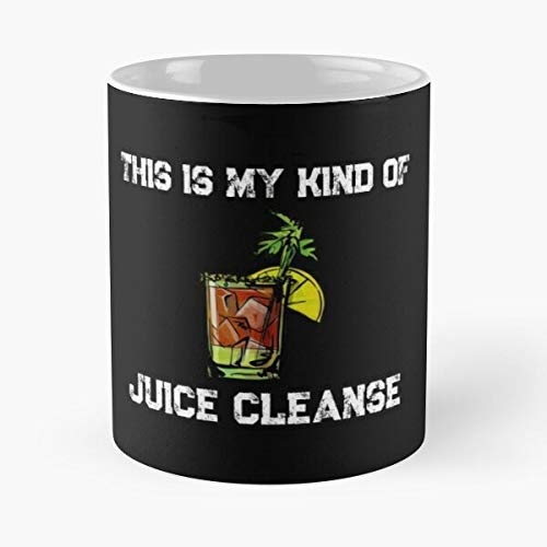 Bloody Mary This Is My Kind Of Juice Cleanse Classic Mug Coffee Tea - Funny Gifts For Men And Women Gift Cup White 11 Oz.the Best Holidays Shark Lover