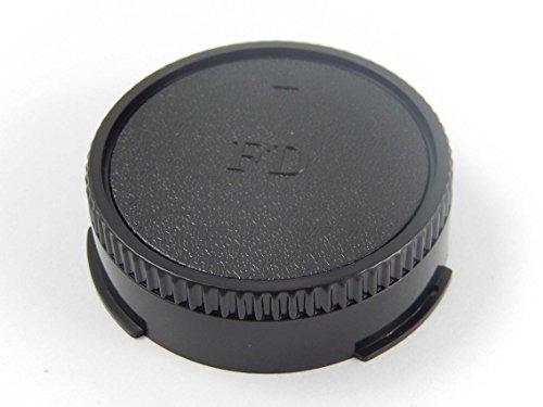 vhbw Tapa de Objetivo Negra FD-Bajonett para Canon A1, AE1, AV1