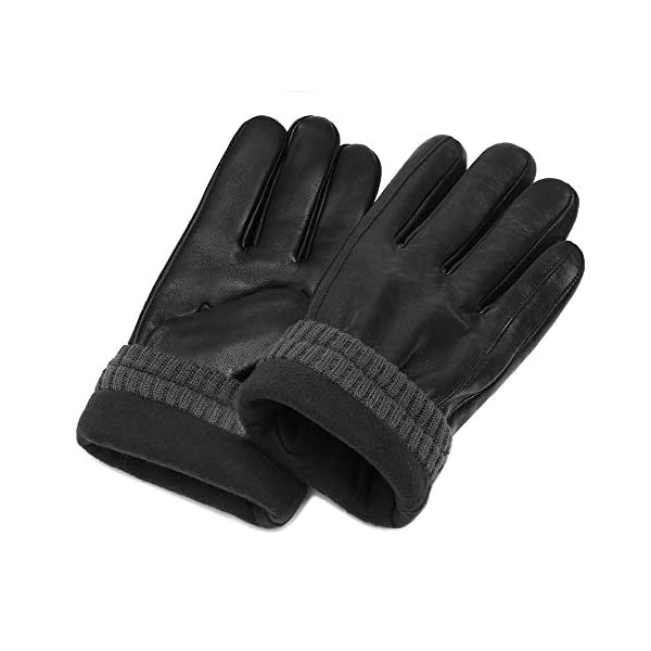 Alomidds Genuine Leather Winter Gloves 2