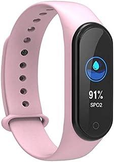 Reloj Inteligente Pantalla de Pulsera Inteligente Impermeable Reloj Inteligente Fitness Inteligente Reloj Control de Actividad de Ritmo cardíaco Fitness Deportivo podómetro del Color