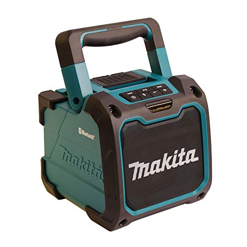 Makita DMR200 Cordless Bluetooth Jobsite Speaker - Blue/Black by Makita