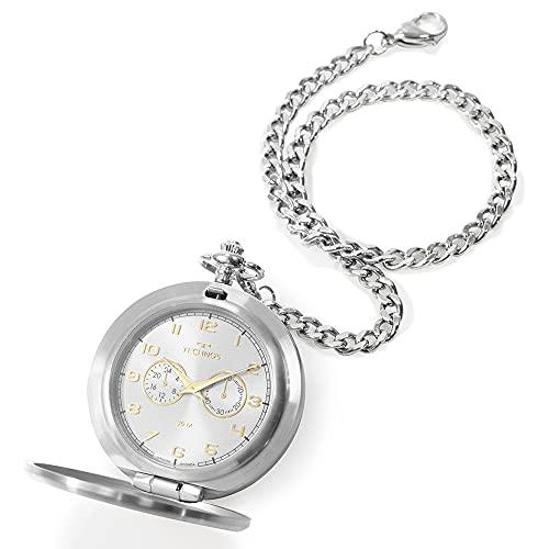 Relógio De Bolso Technos Masculino Heritage - VD77AD/1K